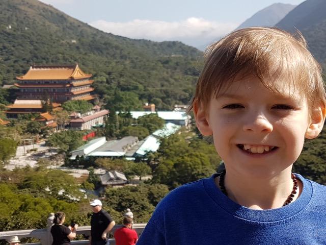 Po Lin Monastery on the island of Lantau